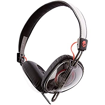 Skullcandy S5AVHX-461 Knockout Women's On-Ear Headphones with Mic & Remote, Mash-Up/Multi/Coral