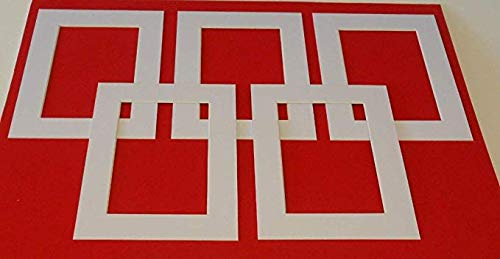 Bevel Cut Frame Smart 10 x White Picture Photo Mounts Computer Cut 16x12 to fit 14x10 Bespoke.