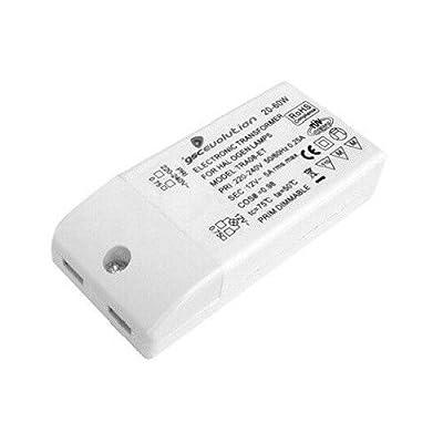 0700369 - Transformador elect.regulable mini 20-60W 12V.