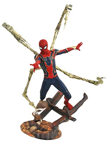 DIAMOND SELECT TOYS Marvel Premier Collection: Avengers Infinity War Spider-Man Resin Statue