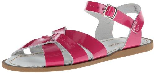 Salt Water Sandals by Hoy Shoe Original women Sandal , Shiny Fuschia, 9 M US WOMEN (Boots Pink Fuschia)