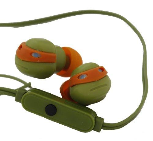 Nickelodeon 11465-MIC-TRU Turtles Earbuds with Mic by Nickelodeon