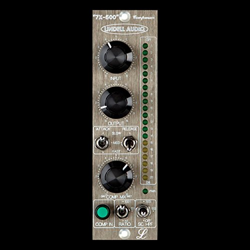 Lindell Audio 7X-500 - FET Style Compressor (500 Series Module) -
