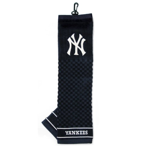 Golf Bag Embroidery (Team Golf MLB New York Yankees Embroidered Golf Towel)