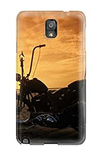 New Arrival Girls And Motorcycles For Galaxy Note 3 Case Cover