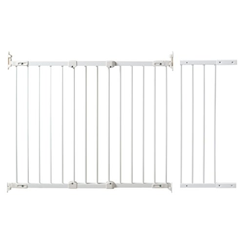 KidCo Angle Mount Safeway Gate – White (Metal) – 42″ to 52.5″
