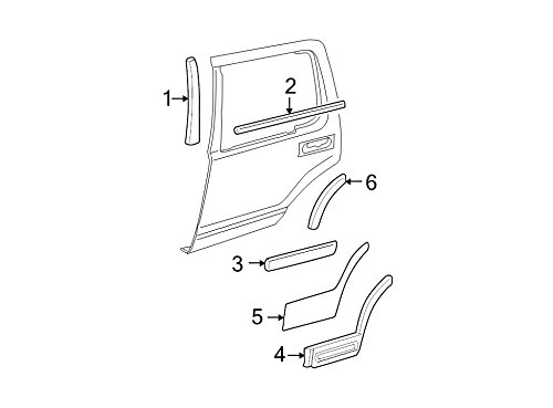 Ford 3L2Z-7825557-CAA - PANEL - FINISH