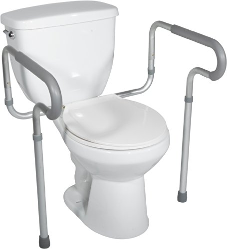 Drive Medical toilet safety frame rail by Drive Medical