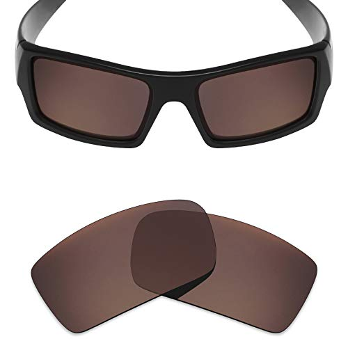 Mryok Polarized Replacement Lenses for Oakley Gascan - Bronze Brown