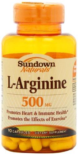 Sundown Naturals L Arginine Capsules Pack
