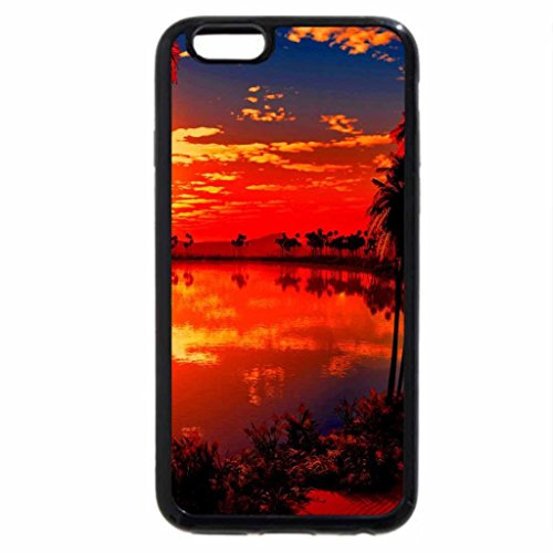 iPhone 6S / iPhone 6 Case (Black) Glowing sunrise