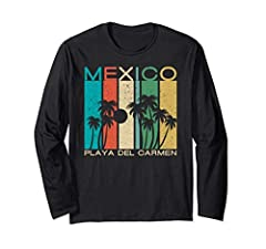 If you are visiting Playa del Carmen on Spring Break 2018 or this summer, or are looking for the perfect souvenir from Mexico, this is Long Sleeve Shirt for you! The perfect thing to wear while sitting on the beach at Playa del Carmen! Our Pl...