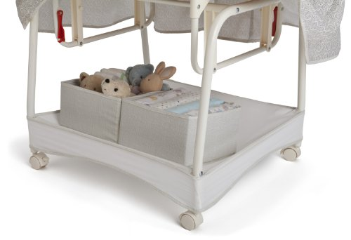 Delta Children Deluxe Gliding Bassinet, Silver Lining  by Delta Children (Image #6)