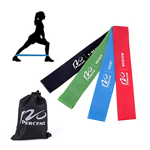 4pcs Resistance Loop Band Exercise Yoga Bands Rubber Fitness Training Strength by SuccessfulDealsStore by SuccessfulDealsStore
