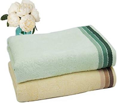 Vert clair Mindruer Fibre de Bambou Serviette Douceur Pure Couleur absorbant Plage Serviette de bain