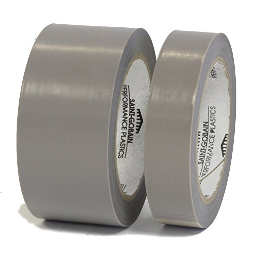 Saint Gobain 2045-3 Professional Industrial High Temperature Skived PTFE Film Tape - 4 Inch X 36 Yards - 2 Rolls per Case by Saint Gobain