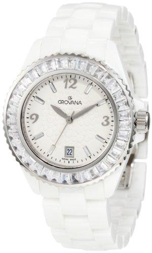 Grovana Women's 4000.7183 Fashion Analog White Watch