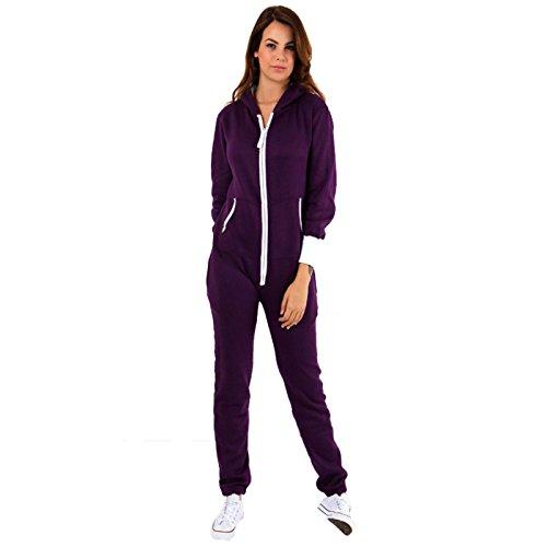 Fatal Fashion - Pijama de una pieza - para mujer morado