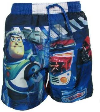 or Girls Toy Story Swimming Swim Shorts with Woody and Buzz in Kids Blue 8 years Boys