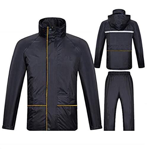 - GAIXIA Raincoat Rain Pants Adult Suit Rain Gear Split Reflective Men and Women Riding Waterproof Rain Poncho