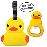 DIYJewelryDepot Duck Luggage Travel Tag Bag Accessories + Ducky...