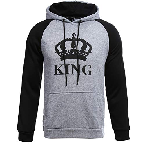 4f24c4c3a7 JIANLANPTT Fashion Long Sleeve King Queen Hoodies Sweatshirt Love Couple -  Buy Online in UAE. | Apparel Products in the UAE - See Prices, Reviews and  Free ...