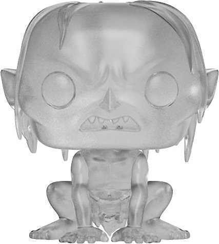POP Funko Gollum Movies x Lord of The Rings Vinyl Figure 1 Official Hobbit//LOTR Trading Card Bundle #535 // 13561 BCC9P0155 B/&N Exclusive
