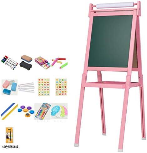 折りたたみ イー ゼル 子供用落書きイーゼル子供用落書き、両面使用、ピンク