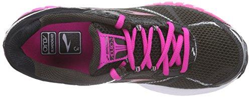 Marrone 3 Donna Black Braun Running BrooksAduro Phantom Scarpe Neonmagenta H1dqII