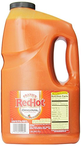 Frank's RedHot Original Cayenne Pepper Sauce, 160 oz (1 gallon)]()