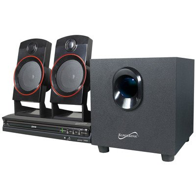 Supersonic 2.1 Channel DVD Home Theater System by Supersonic