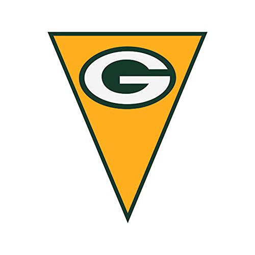 NFL Green Bay Packers Plastic Flag Banner (12ft) ()