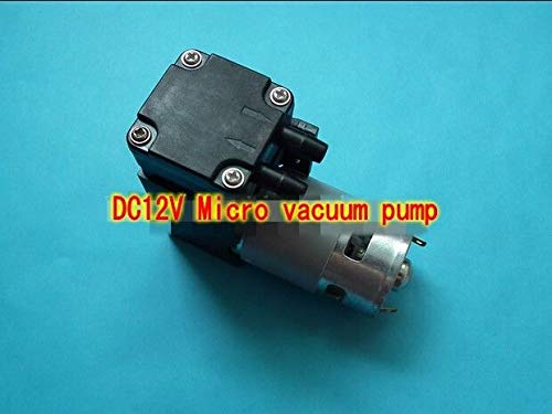 FidgetFidget Vacuum Pump DC12V 42L min 40W Micro Suction Aspirator Pump Piston Pump85kpa