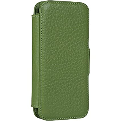 on sale 1117f 910ea Sena Cases Wallet Book for iPhone SE / 5 / 5s (Green)