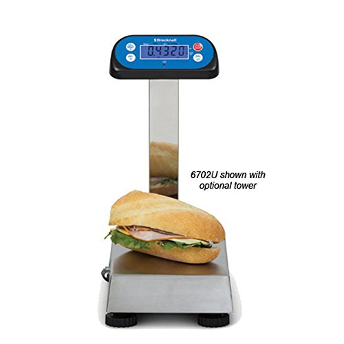 Brecknell 6702U POS Bench Scale-External Display-15 lb Capacity