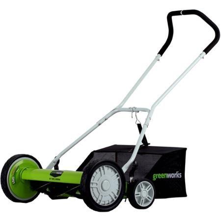 Greenworks 5-Blade 20'' Reel Mower