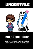 Undertale Coloring Book: Color in over 25 Undertale characters!