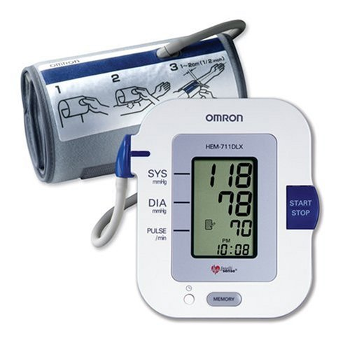 Omron HEM-711 DLX Automatic Blood Pressure Monitor with Comfit Cuff ()