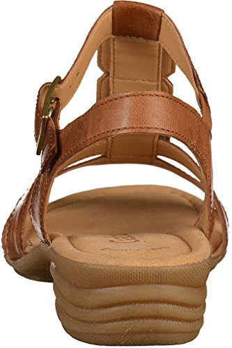 Gabor Dames Ongedwongen Strappy Sandals Koper Tucson