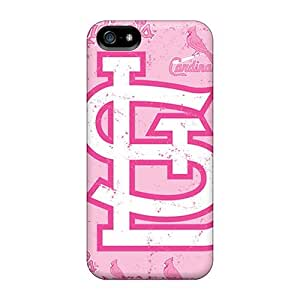 Iphone 5/5s Case, Premium Protective Case With Awesome Look - St. Louis Cardinals