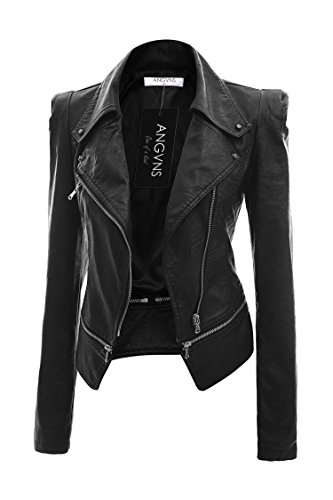 ANGVNS Qulited Classic Leather Jackets