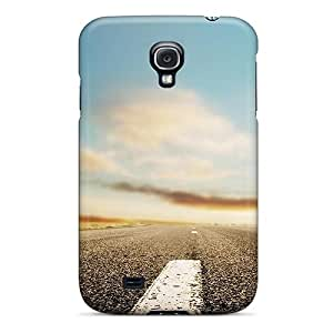 MJwbK34078TBxAY Faddish Horizon Roads Case Cover For Galaxy S4