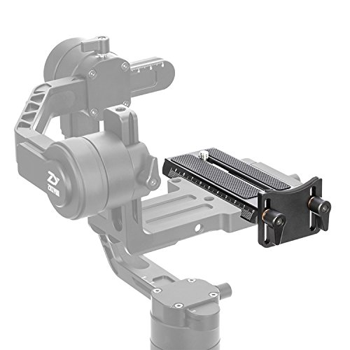 Position Two Thumb Clamp (Zhiyun Crane 2 Quick Release Plate with 1/4 Screw for Panasonic GH5)