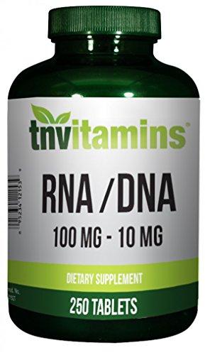 TNVitamins RNA Plus DNA Tablets - 250 (Dna Rna Supplements)