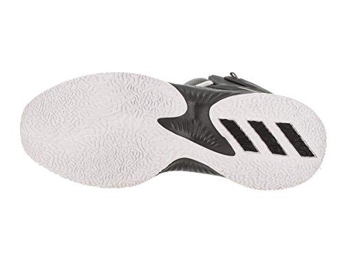adidas Performance Herren Explosive Bounce Laufschuhe Kern Schwarz / Silber Metallic / Grau Fünf