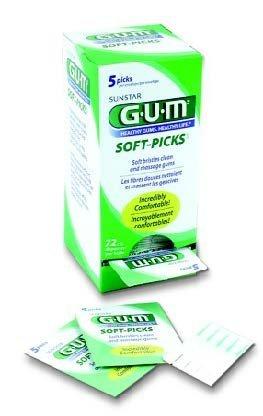 GUM Soft-picks Original ''BULK 72 Envelops of 5'' (Total 360)
