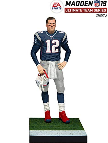 McFarlane Toys EA Sports Madden NFL 19 Ultimate Team Tom Brady England Patriots
