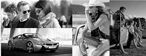 WDDYYBF Occhiali da Sole, Steampunk Round Occhiali da Sole Donne Uomini Retro Vintage Eleganti Occhiali da Sole con Gradiente Trasparente Eyewear Uv400