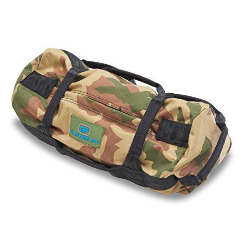 Garage Fit Heavy Duty Workout Sandbags for Fitness, Exercise Sandbags, Military Sandbags, Weighted Bags, Weighted Sandbag, Fitness Sandbags, Training Sandbags, Camouflage 0-30 ()