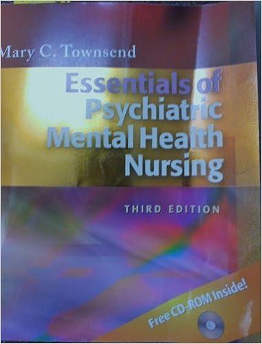 essentials of psychiatric mental health nursing 3rd edition
